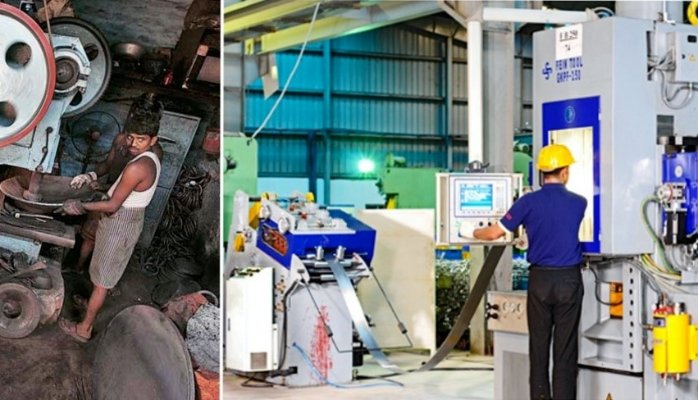 Why Manufacturing is not an attractive option for employees in India?